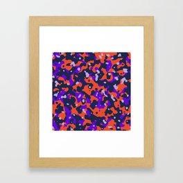 Molten Rock Framed Art Print