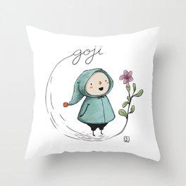Goji Throw Pillow