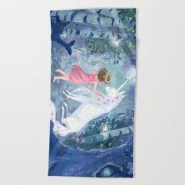 Magic Forest Beach Towel
