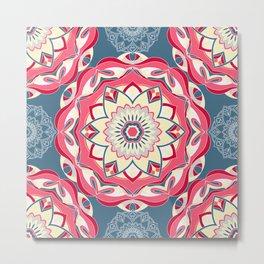 Beautiful mandala pattern Metal Print