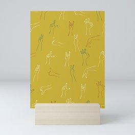 Hand-print Pattern Mini Art Print