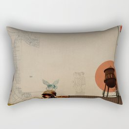 WaterTower Rectangular Pillow