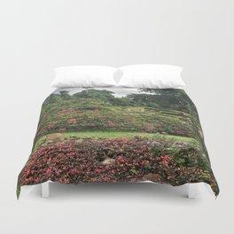 Stormy Garden Duvet Cover