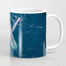 Lounging Whale Coffee Mug