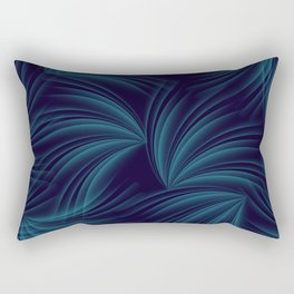 feathers in the wind Rectangular Pillow