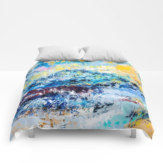 Visionary mountain Comforters