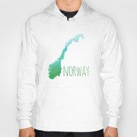 norway Hoodies featuring Norway by Stephanie Wittenburg
