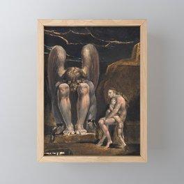 William Blake - America. A Prophecy, Plate 1, 1793 Framed Mini Art Print