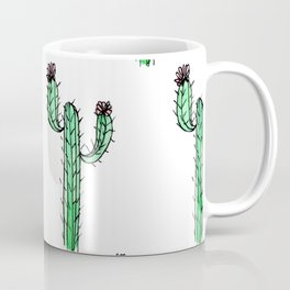 Cactus Flower II Pattern Coffee Mug
