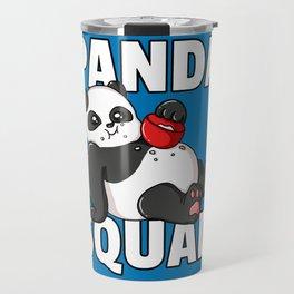 Panda Bear Big Funny Sweet Travel Mug