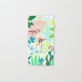 Flamingo jungle Hand & Bath Towel