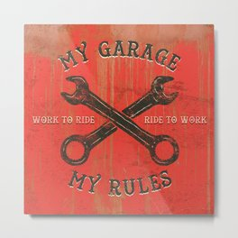 My garage Metal Print