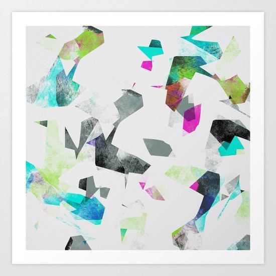 Camouflage XXXII Art Print