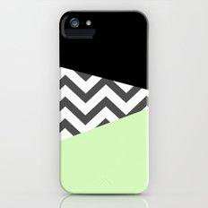 Color Blocked Chevron 3 Slim Case iPhone (5, 5s)