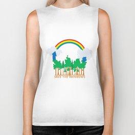 Save the Rainbows Biker Tank
