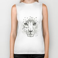 cheetah Biker Tanks featuring Cheetah by STATE OF GRACCE