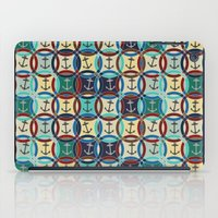 anchors iPad Cases featuring anchors by Sharon Turner