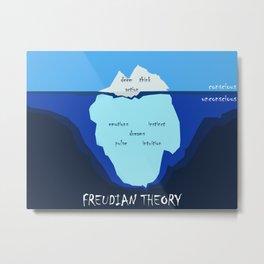 Freudian theory Metal Print