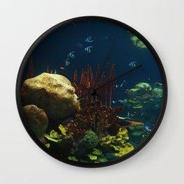 In  the Aquarium Wall Clock