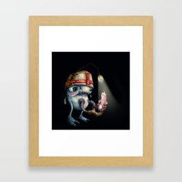 Medi Cross Framed Art Print