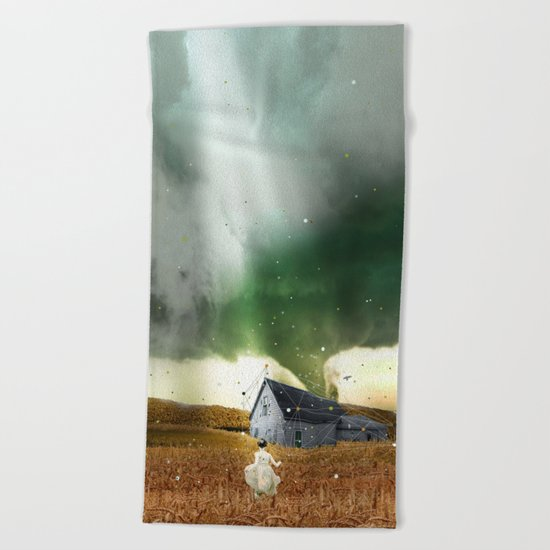 DOROTHY'S HOUSE Beach Towel