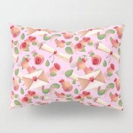 Roses Love Notes Pillow Sham