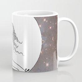 She Is Playing With Moths Coffee Mug