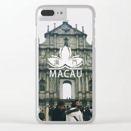 Macau Clear iPhone Case