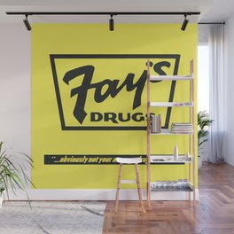 Fay's Drugs | the Immortal Yellow Bag Wall Mural