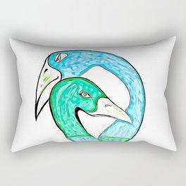 the Lovers Embrace Rectangular Pillow