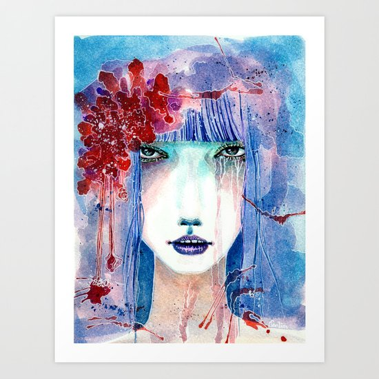 Beautiful Tomie Art Print
