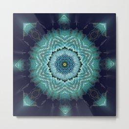 Wing Lotus Metal Print