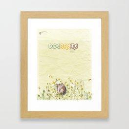doerayme Framed Art Print