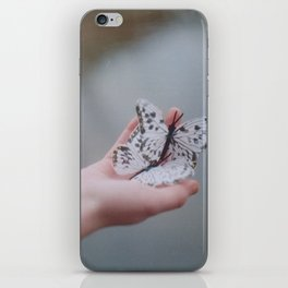 butterfly iPhone Skin