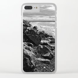 Shimmering Waters Clear iPhone Case