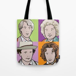 Doctors 5 to 8 Tote Bag