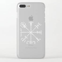 Compass Clear iPhone Case
