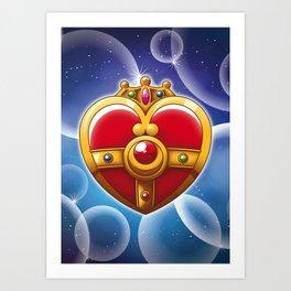 Sailor Moon - Cosmic Heart Art Print