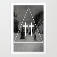 witch Art Prints featuring Witch by A C U L T