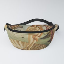 The Birth of Venus by Sandro Botticelli Fanny Pack