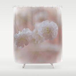 Baby's breath Shower Curtain