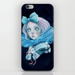 Little Clown with her Concertina iPhone Skin