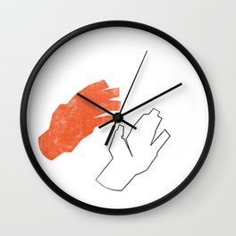 Two Hands Wall Clock