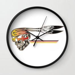 Fire Spiirt Wall Clock