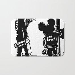 Dismaland Banksy Punk Bath Mat