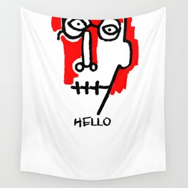 Hello Man Wall Tapestry