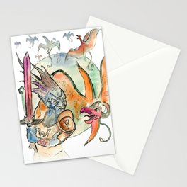 3872 cliff racers Stationery Cards
