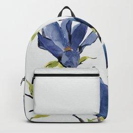 Blue Flowers 3 Backpack