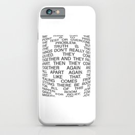 Pass The Test iPhone Case