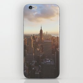 New York from above iPhone Skin